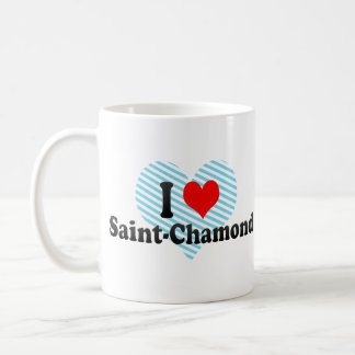 I Love Saint-Chamond, France Mugs