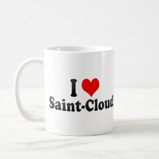 I Love Saint-Cloud, France Coffee Mugs