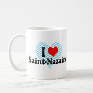 I Love Saint-Nazaire, France Coffee Mug