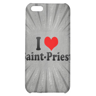 I Love Saint-Priest, France Case For iPhone 5C