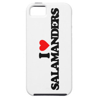 I LOVE SALAMANDERS iPhone 5 COVER
