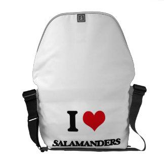 I love Salamanders Messenger Bags