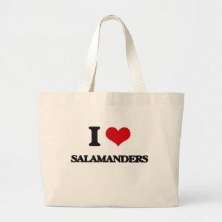 I love Salamanders Jumbo Tote Bag