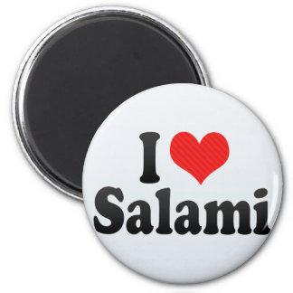 I Love Salami Magnet