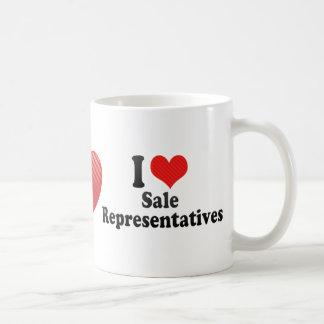 I Love Sale Representatives Coffee Mug