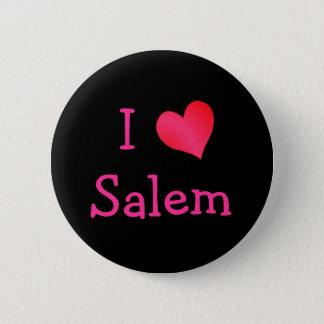 I Love Salem 6 Cm Round Badge