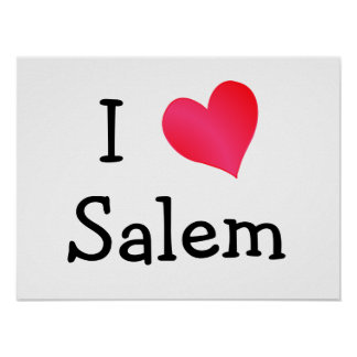 I Love Salem Poster
