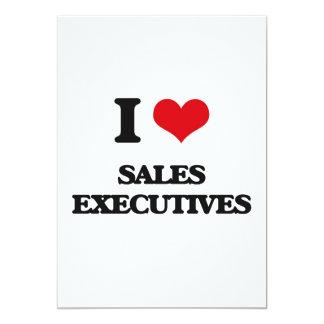 I love Sales Executives Personalized Invites