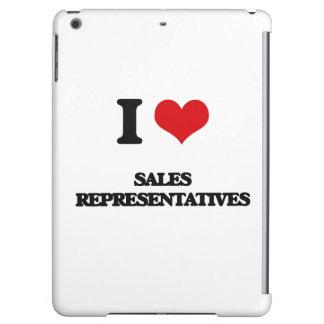 I love Sales Representatives iPad Air Case