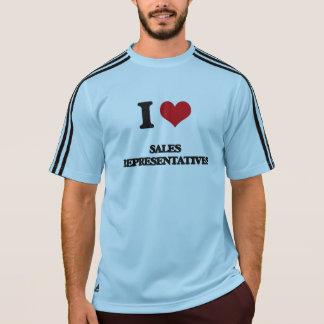 I Love Sales Representatives Shirt