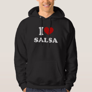 I Love Salsa Hoodie