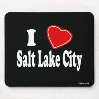 I Love Salt Lake City Mousepads