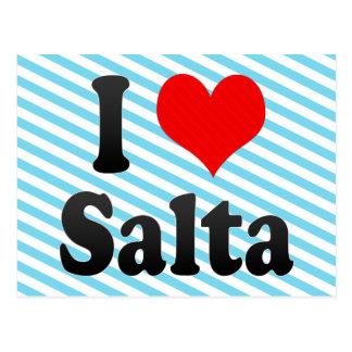 I Love Salta, Argentina Postcard