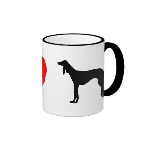 I Love Salukis Mug