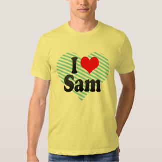 I love Sam T-shirts