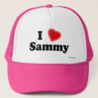 I Love Sammy Trucker Hat