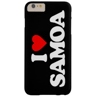 I LOVE SAMOA BARELY THERE iPhone 6 PLUS CASE