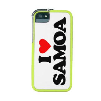 I LOVE SAMOA CASE FOR iPhone 5/5S