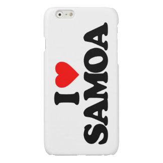 I LOVE SAMOA iPhone 6 PLUS CASE