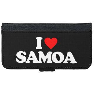 I LOVE SAMOA iPhone 6 WALLET CASE