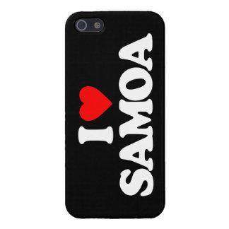 I LOVE SAMOA iPhone 5 CASES