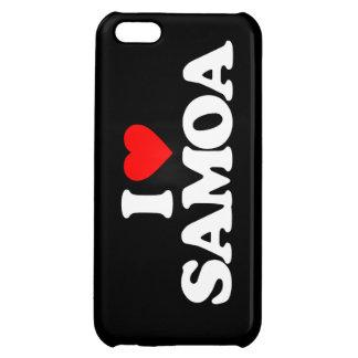 I LOVE SAMOA iPhone 5C CASES