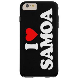 I LOVE SAMOA TOUGH iPhone 6 PLUS CASE