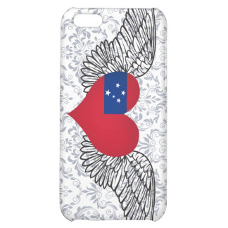 I Love Samoa -wings iPhone 5C Cases