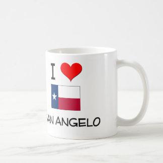 I Love San Angelo Texas Mug