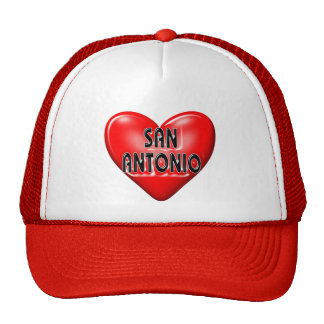I Love San Antonio Hat