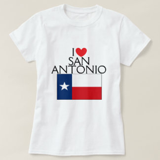 I Love San Antonio, Texas T-Shirt
