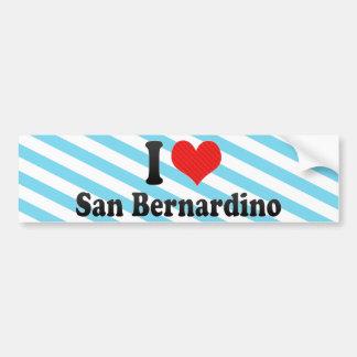 I Love San Bernardino Bumper Sticker