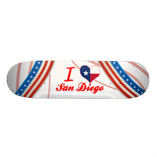 I Love San Diego, Texas Skateboard Decks