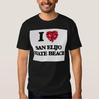 I love San Elijo State Beach California T-shirt