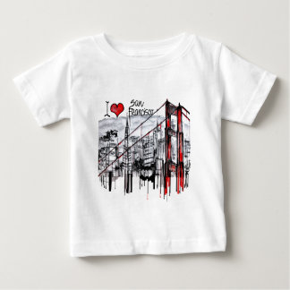 I love San Francisco Baby T-Shirt
