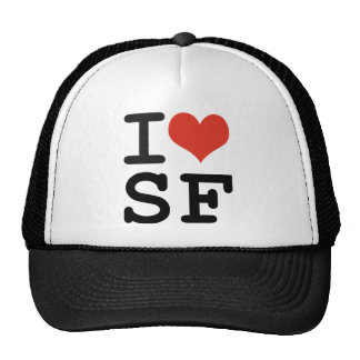 I love San Francisco Mesh Hat