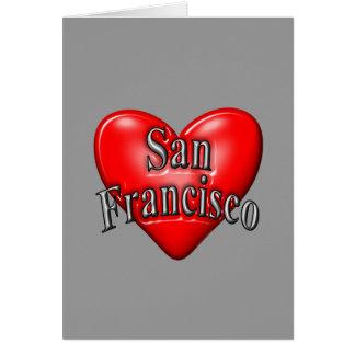 I Love San Francisco Stationery Note Card
