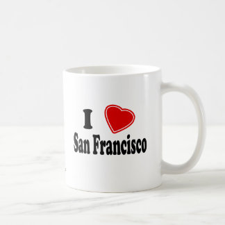 I Love San Francisco Coffee Mug