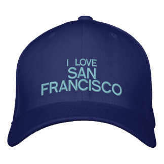 I LOVE SAN FRANCISCO - Customizable Baseball Cap