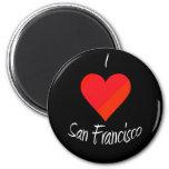 I Love San Francisco Fridge Magnets