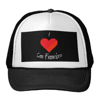 I Love San Francisco Trucker Hats