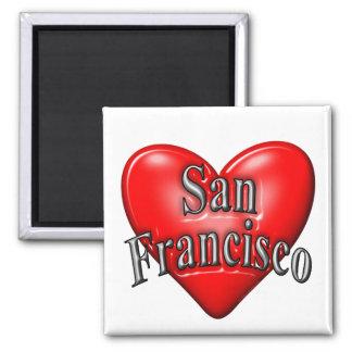 I Love San Francisco Magnets