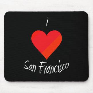 I Love San Francisco Mouse Pad