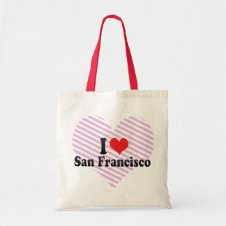 I Love San Francisco Budget Tote Bag