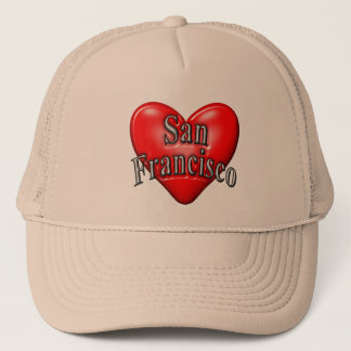 I Love San Francisco Trucker Hat