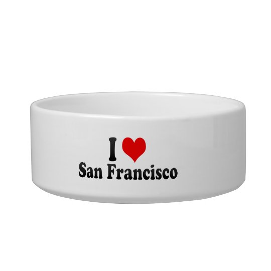 I Love San Francisco, United States Bowl