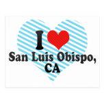 I Love San Luis Obispo,+CA Post Card