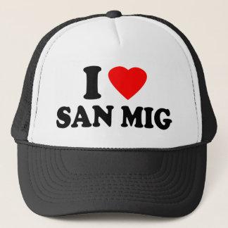 I Love San Mig Trucker Hat