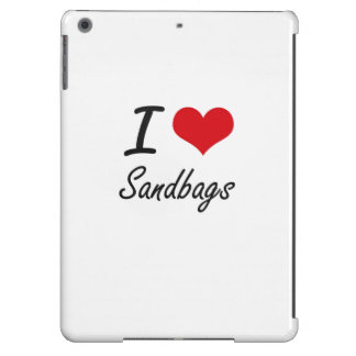I Love Sandbags iPad Air Cases