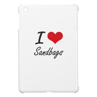 I Love Sandbags iPad Mini Cases